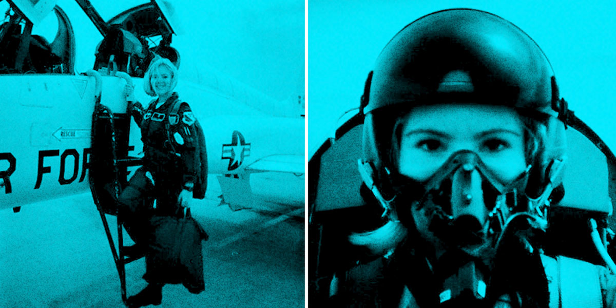 Leslie Stewart - Air Force Pilot