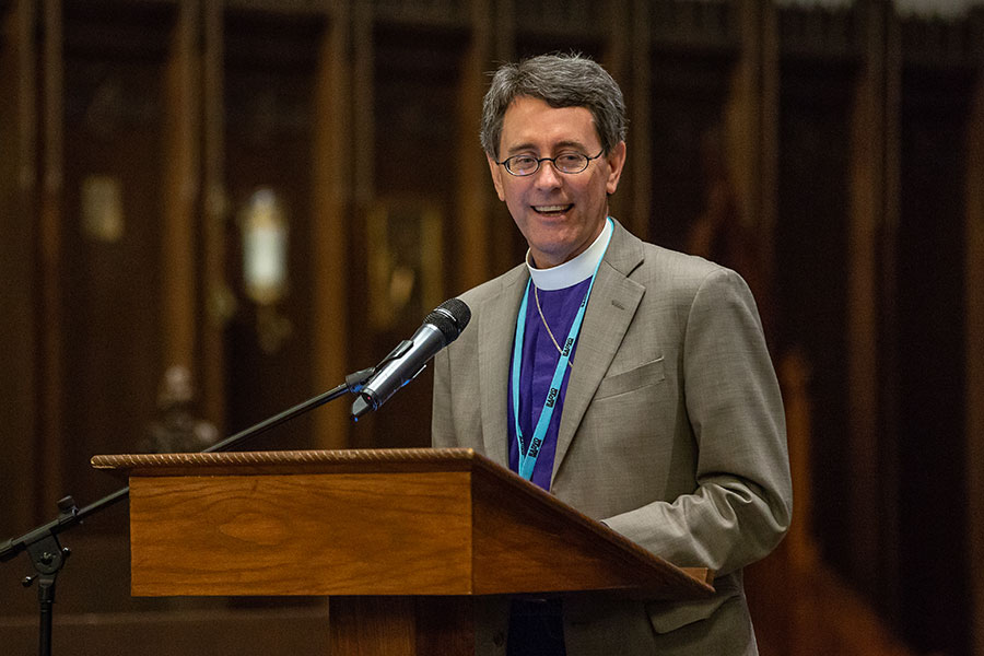 The Rt. Rev. Dr. Stephen Andrews - Wycliffe College, Toronto