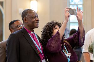 Archbishop Josiah Idowu-Fearon and the Rev. Dr. Samira Izadi Page